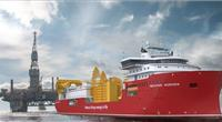 Nexans' new cable laying vessel Aurora (© Ulstein Verft AS)