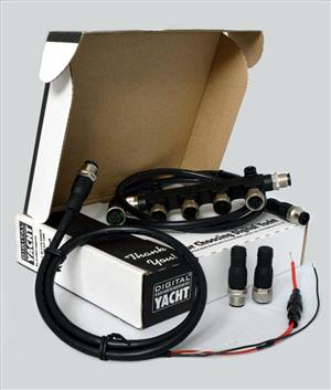 Digital Yacht's NMEA 2000 Starter Kit makes installing modern marine electronics a breeze (Photo: Digital Yacht)