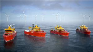 The new electric Voith Schneider Propeller will be delivered for four offshore supply vessels of the Norwegian shipping company Østensjø. (Image: Østensjø)