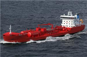 Utkilen's new chemical tanker