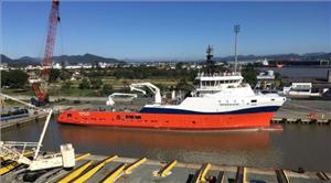 CBO Bossa Nova and five other newbuilds will operate with Cobham SATCOM VSAT and Satellite TV (TVRO) antennas in addition to radio communication equipment  (Photo: Cobham Satellite)