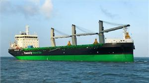 The first LNG dual-fueled handysize bulk carrier in the world, M/V Haaga, features a range of energy efficiency solutions on board (Photo: ESL Shipping)