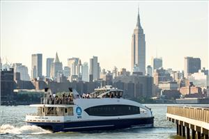 Photo courtesy fo NYC Ferry Service