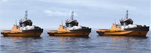 ABS has granted Approval in Principle to Wärtsilä for a hybrid-powered, tug design. The new design will form the foundation for Wärtsilä's new portfolio of tug designs, known as the Wärtsilä HYTug Series. (Image: Wärtsilä)